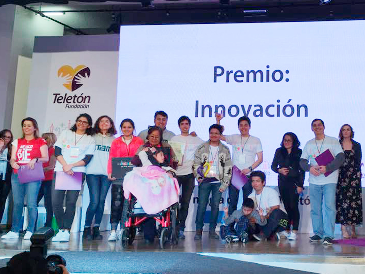 "ITAM's  Engineering Students win a prize in the ""Innovatón"""